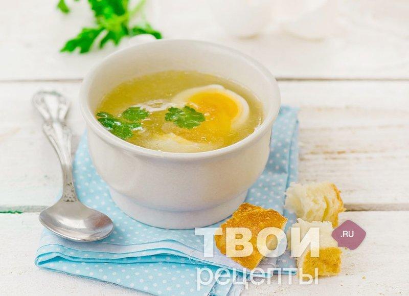 Как сварить куриный бульон с яйцом пошаговый рецепт
