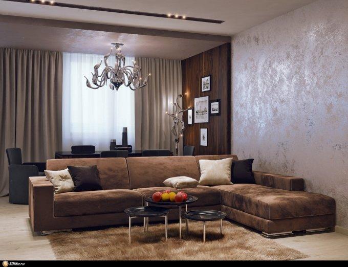 Декоративные идеи для зала