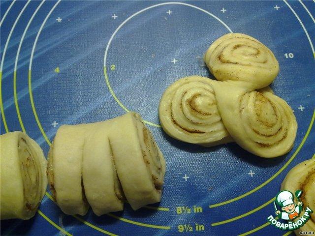 Как сделать красивую форму булочкам с фото 921