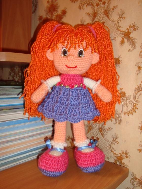 Кукла своими руками из крючком