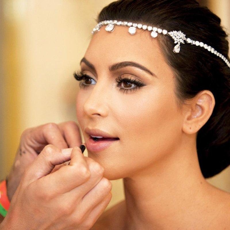 Макияж свадебный для брюнетки