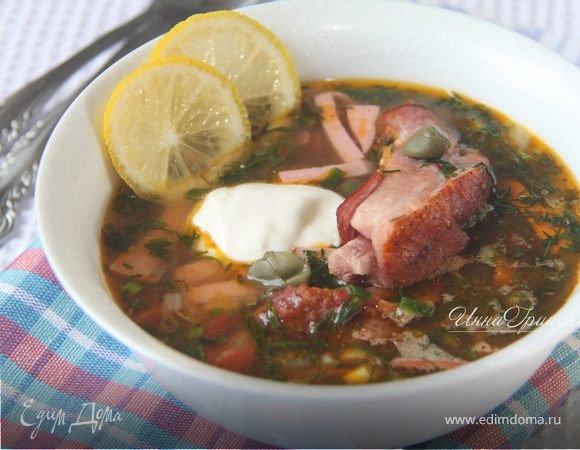 Рецепты мясной солянки от юлии высоцкой