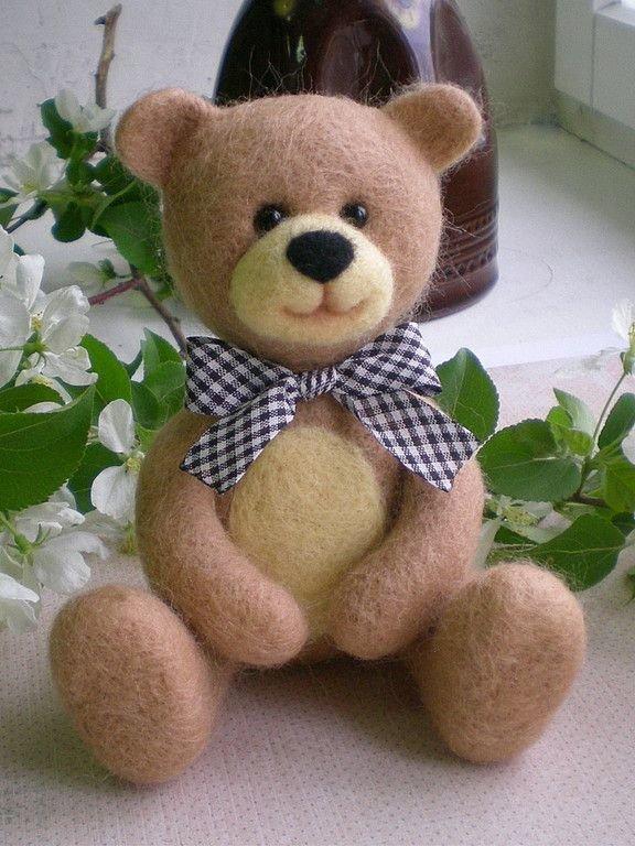 Медвежонок из валяния