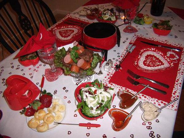 Рецепт приготовления романтического ужина