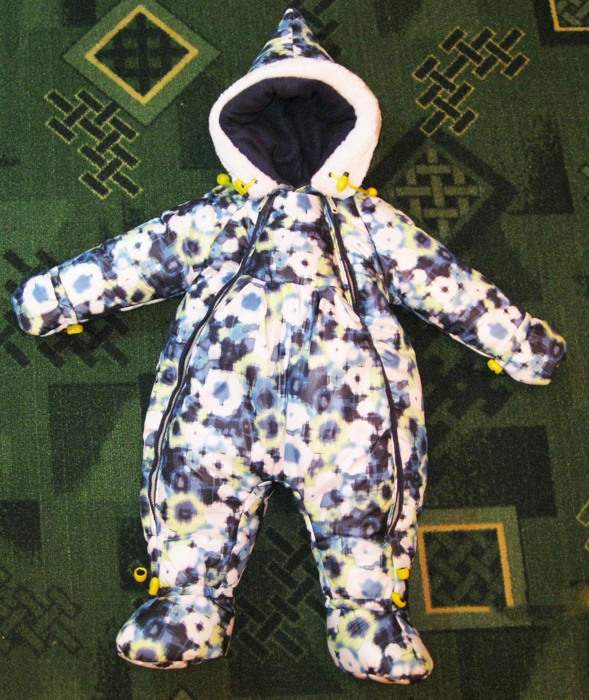 Зимний костюм ребенку своими руками 87
