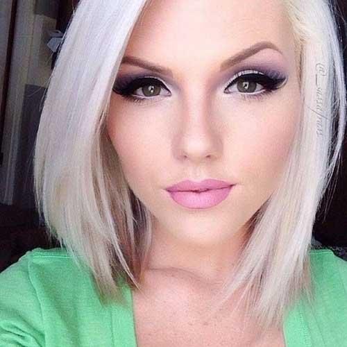 Фото макияж блондинок с карими глазами