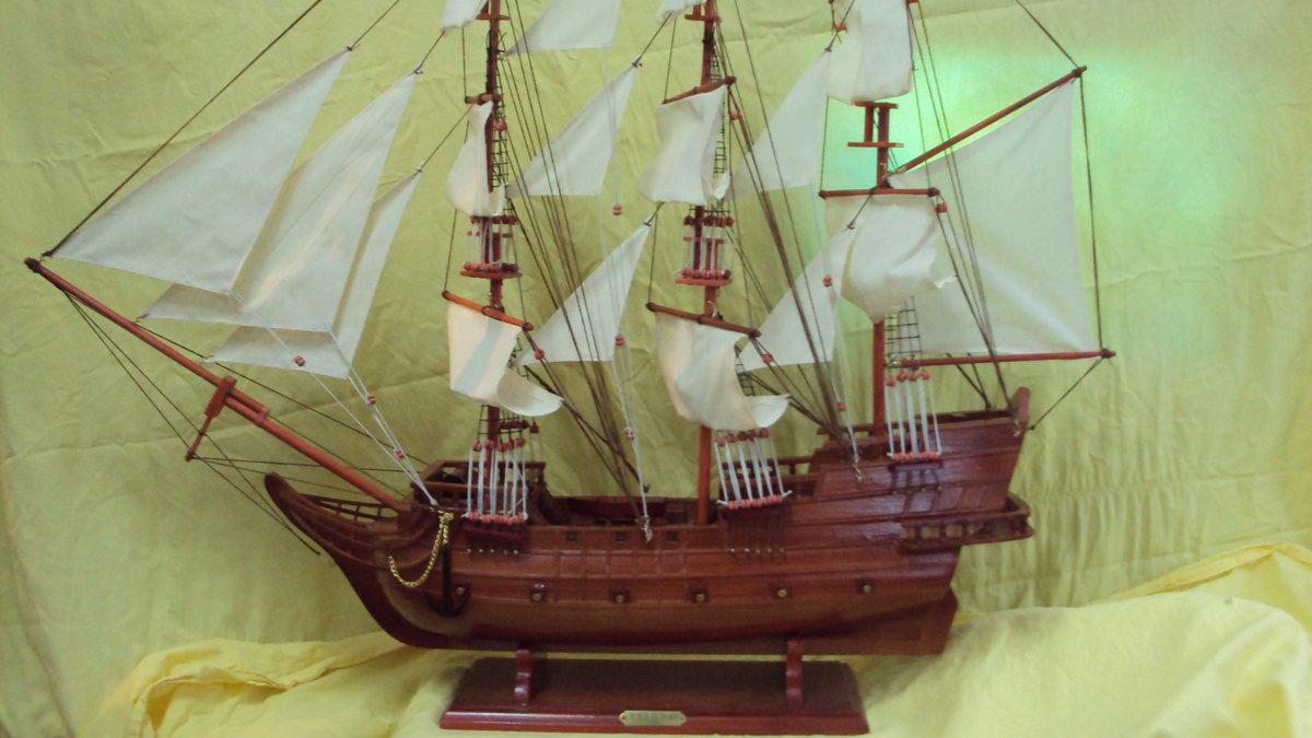Как сделать парусный корабль из дерева своими руками 91