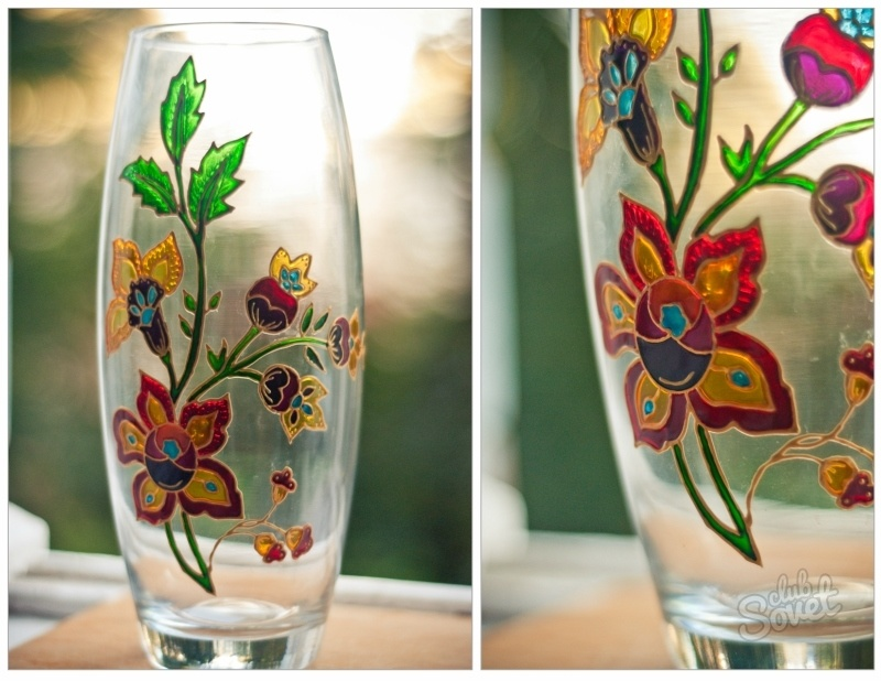 Орнамент на вазе своими руками 41