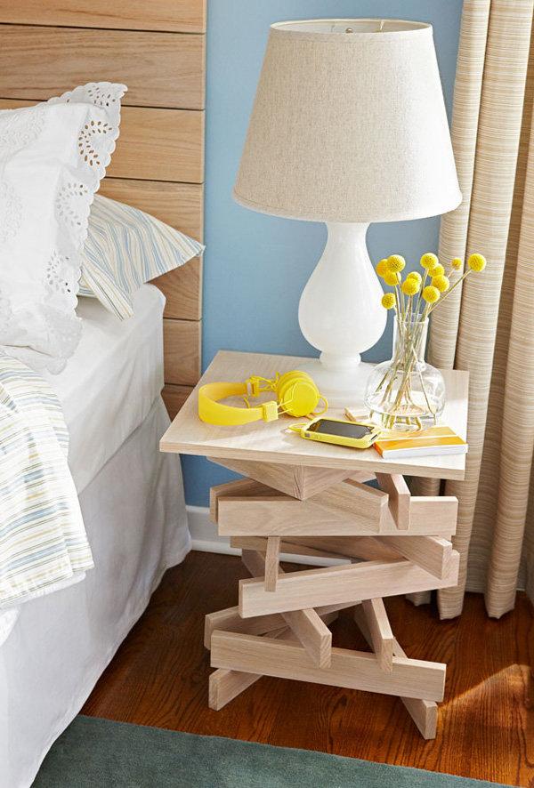 Столики для спальни своими руками 3