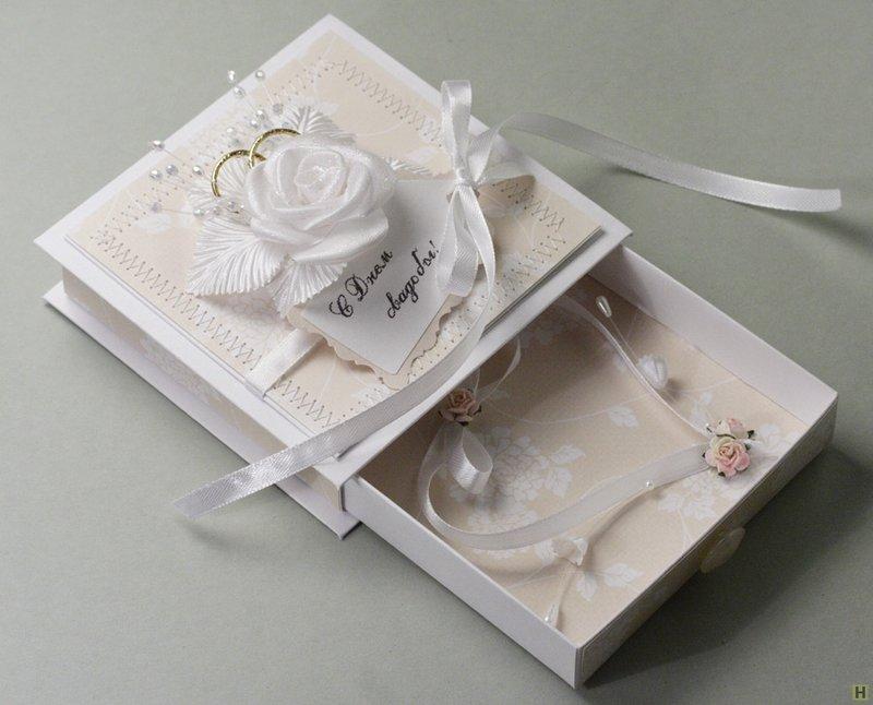 Подарок открытка на свадьбу