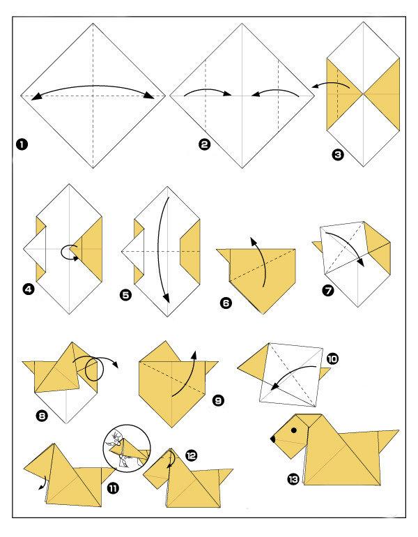 Поделки для детей с инструкцией 110