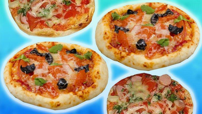 Рецепт пиццы в приготовить домашних условиях с фото