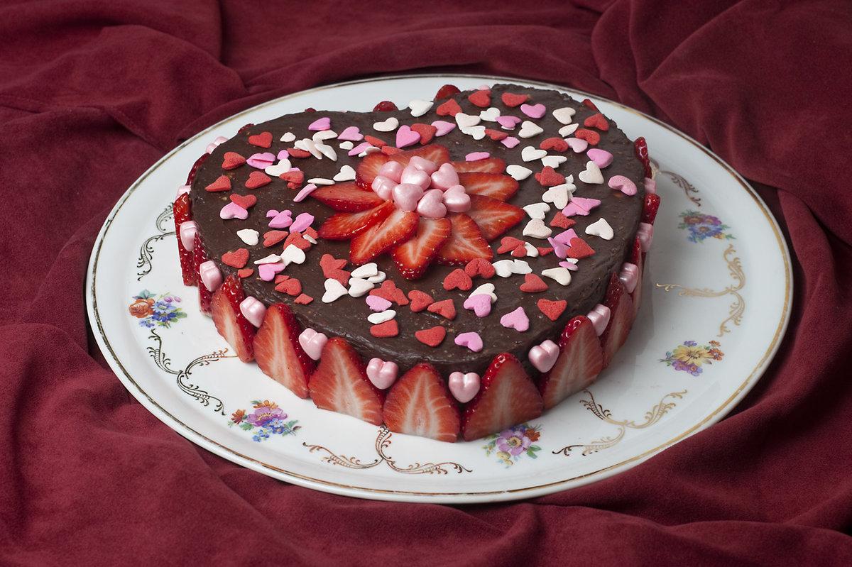 Торт для любимого своими руками