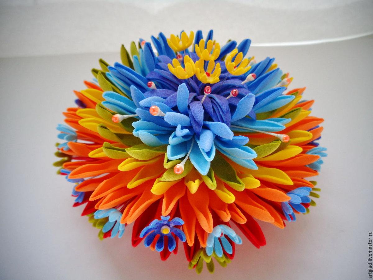 Цветик семицветик поделка