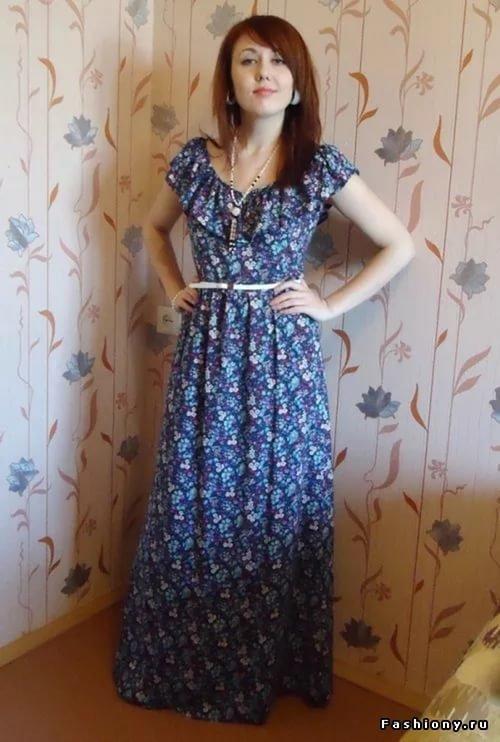 Платье для дома своими руками фото