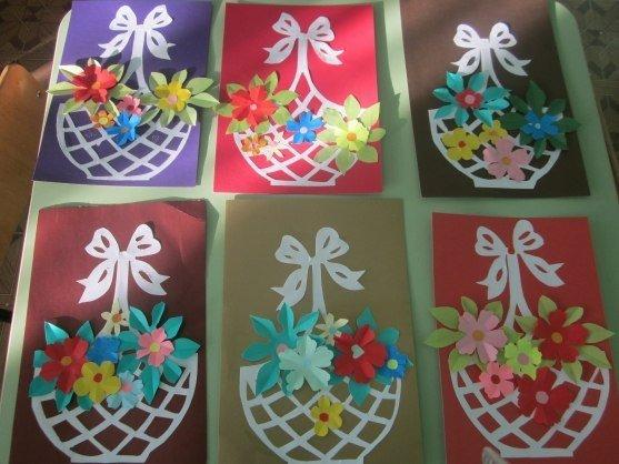 Подарок для мамы своими руками в детском саду на день матери в 100