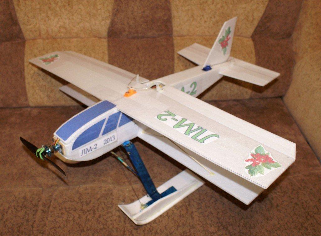 Как сделать макет самолета своими руками 94
