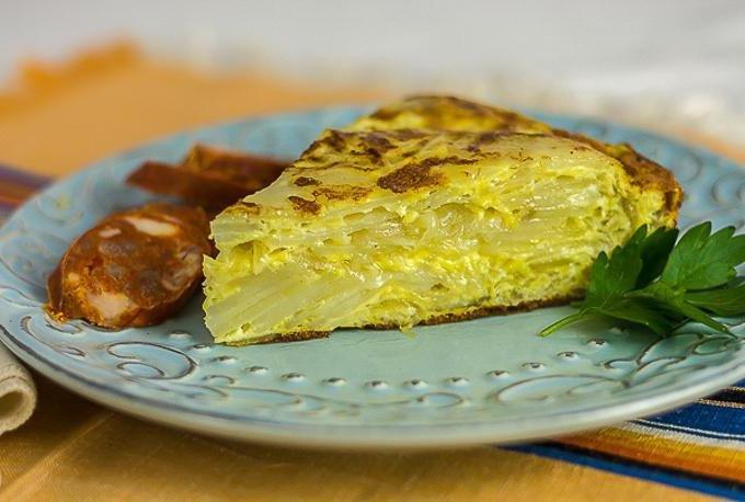 Пирог на сковородке рецепт