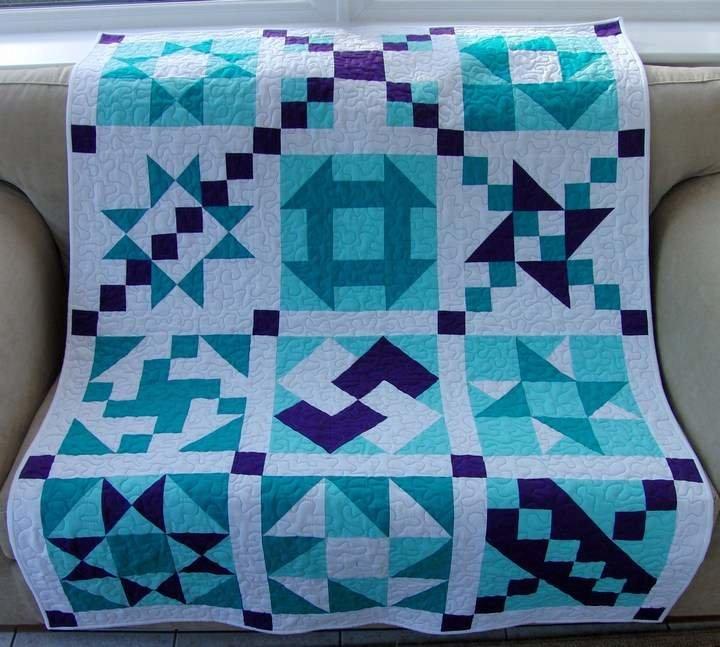 Как сшить одеяло из лоскутков для начинающих с