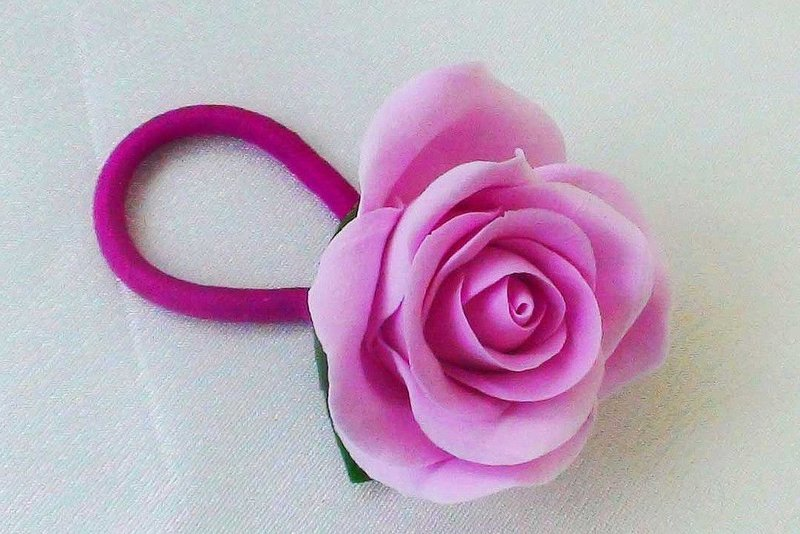 Цветы для резинки
