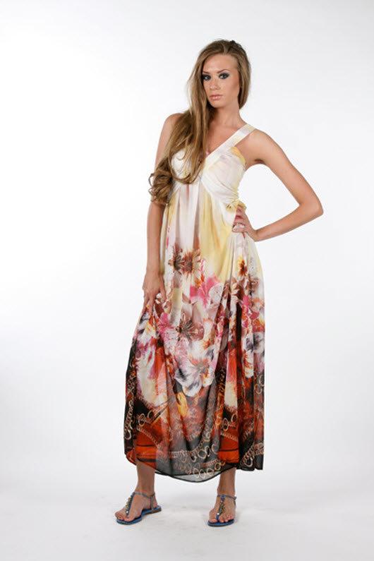 Не длинное летнее платье своими руками 14