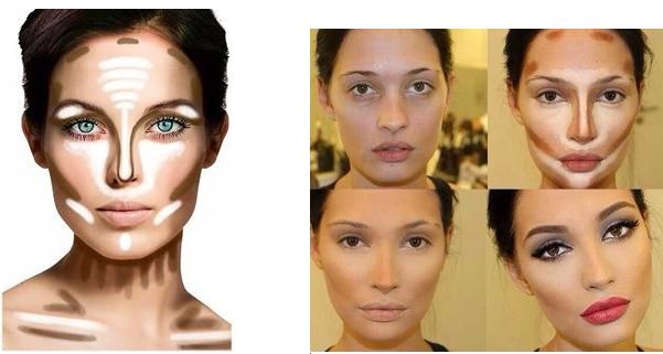Как сделать себе скулы при помощи макияжа