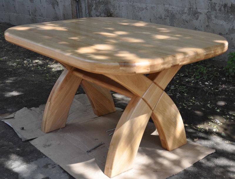 Деревянная ножка для круглого стола своими руками