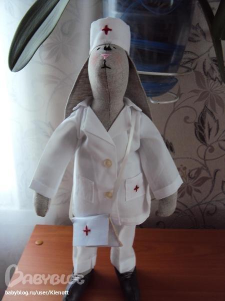 Кукла сшитая своими руками медик