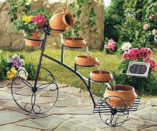 Необычный и красивый фонтан для сада. - карточка от пользователя smirnova483 в Яндекс.Коллекциях