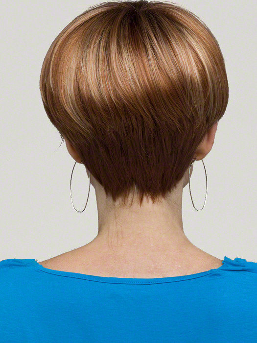 Стрижка лесенкой для коротких волос вид сзади