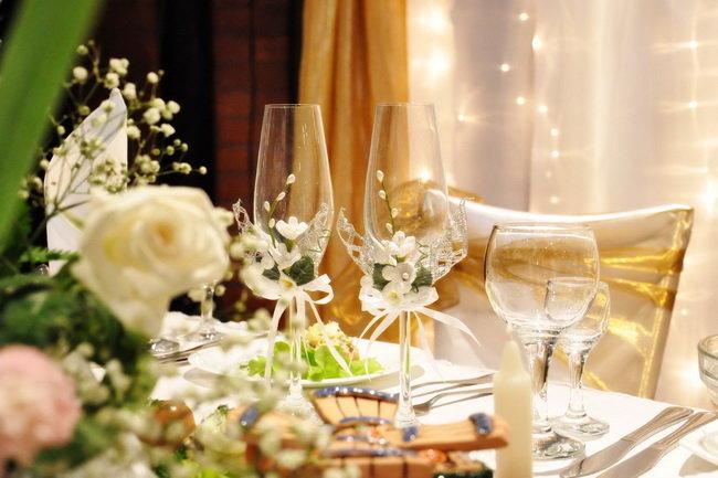 Свадебные атрибуты своими руками
