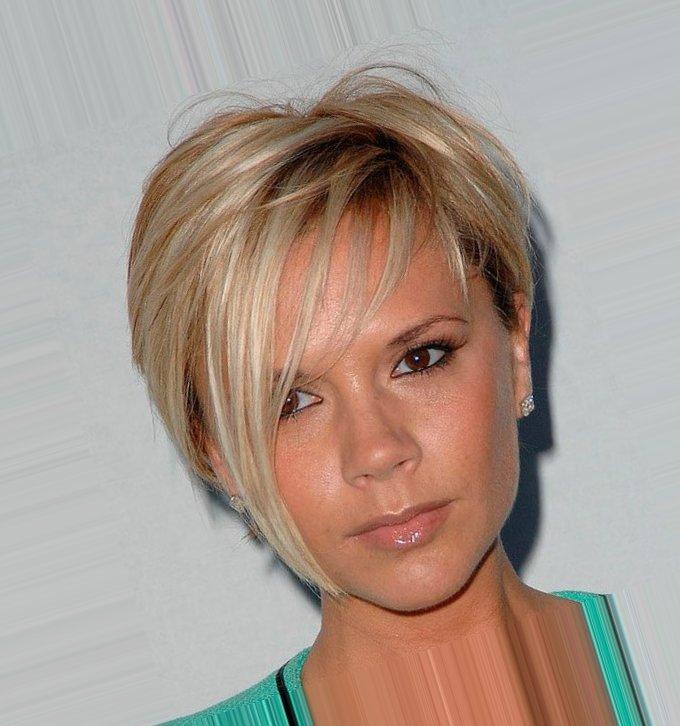 Фото женские короткие стрижки светлые волосы