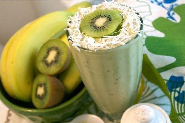 Банан киви с фото пошагово