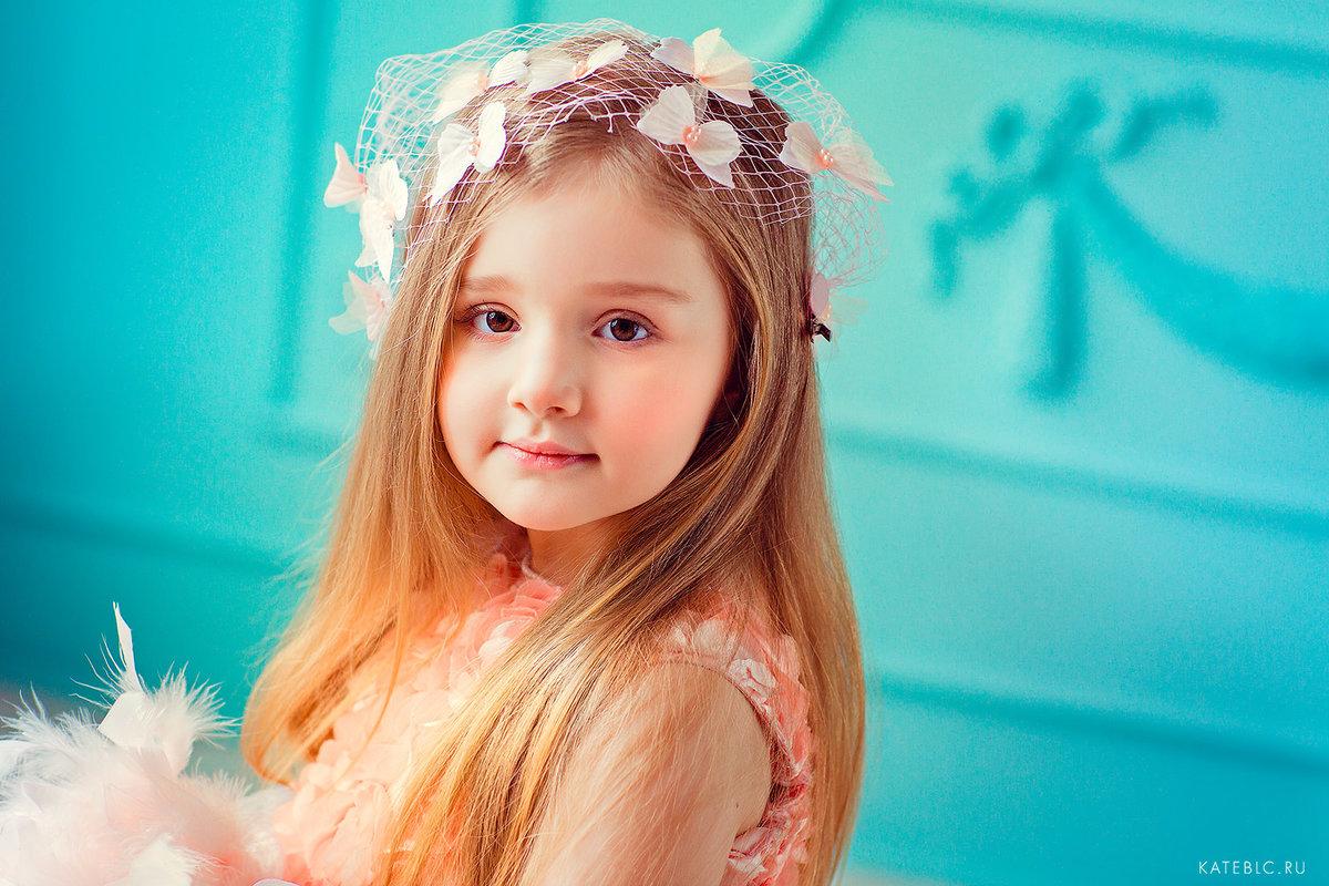 Прическа для фотосессии девочек