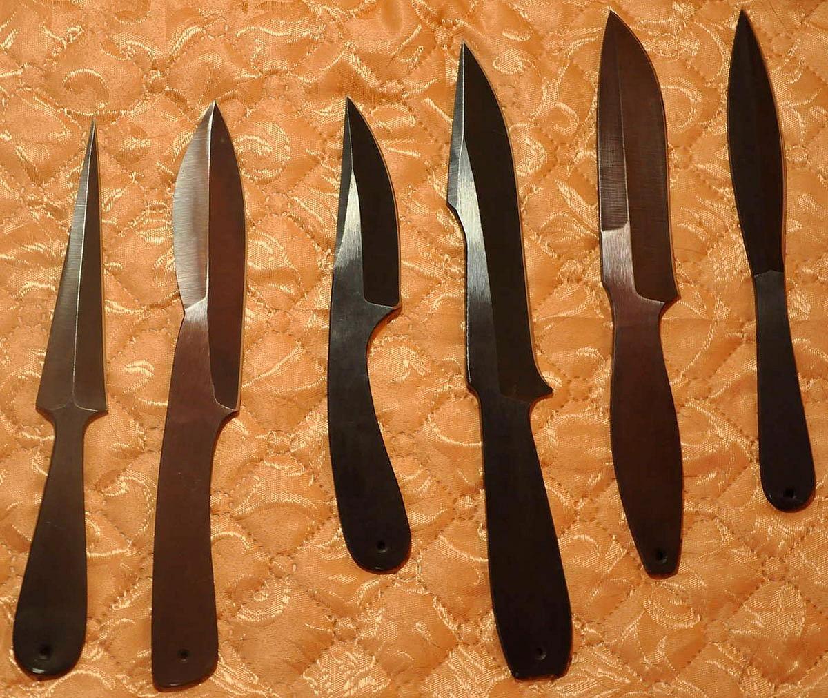 Как легко и просто изготовить метательный нож? 51