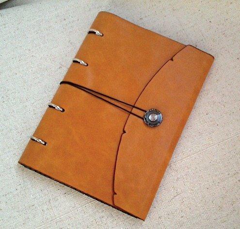Сделать ежедневник своими руками на кольцах
