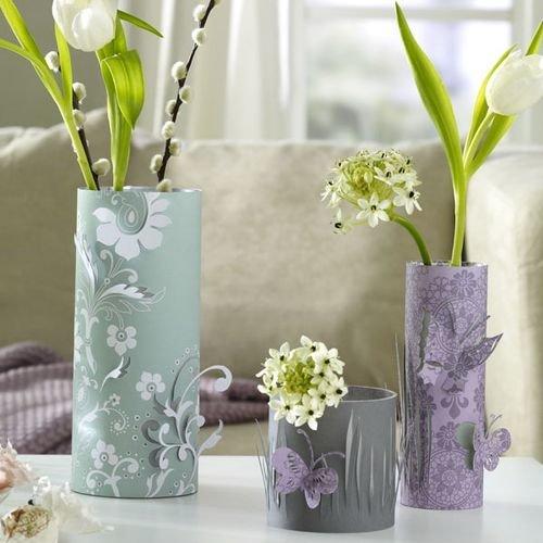Как сделать вазы своими руками в домашних условиях 39