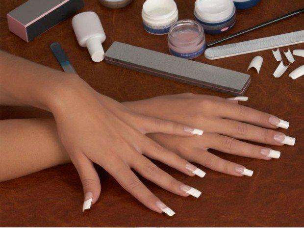 Гелевые ногти на своими руками 378