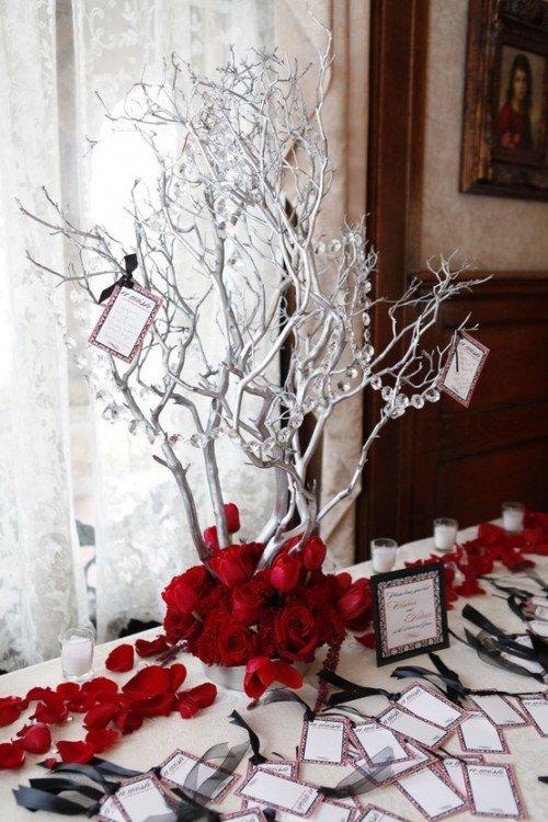 Дерево для свадьбы своими руками 8