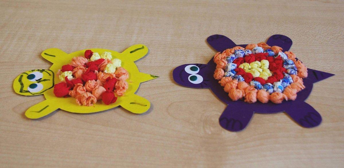 Детские поделки из бумаги для детей 3-4 лет фото 4