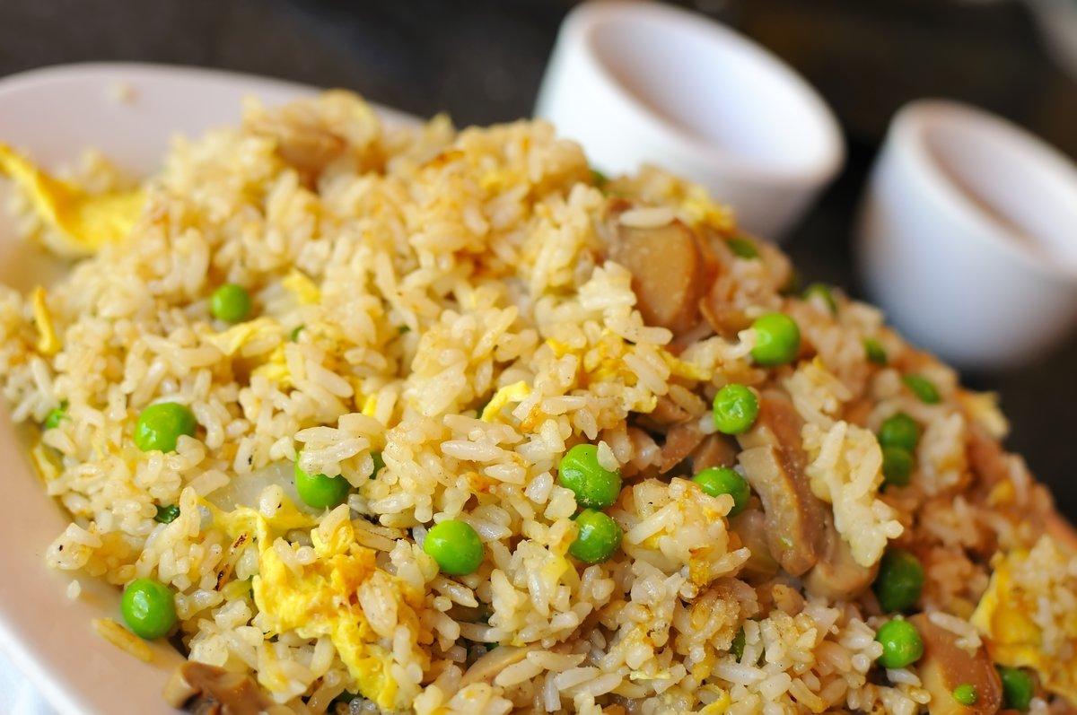 Рис по-китайски пошаговый рецепт