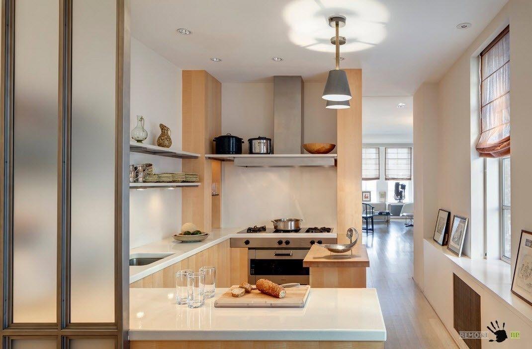 Интерьер и дизайн кухни 9 кв.м фото