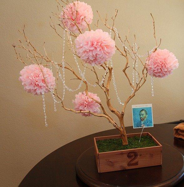 Декоративные деревья из своими руками