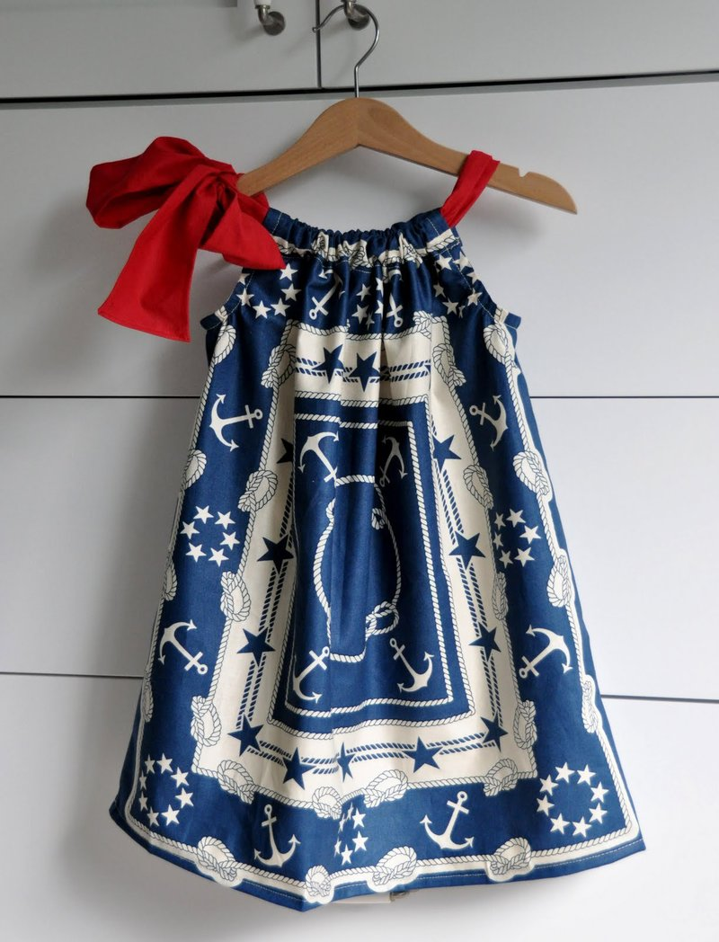 Детские платья сшить самим быстро и просто. Часть 1 51