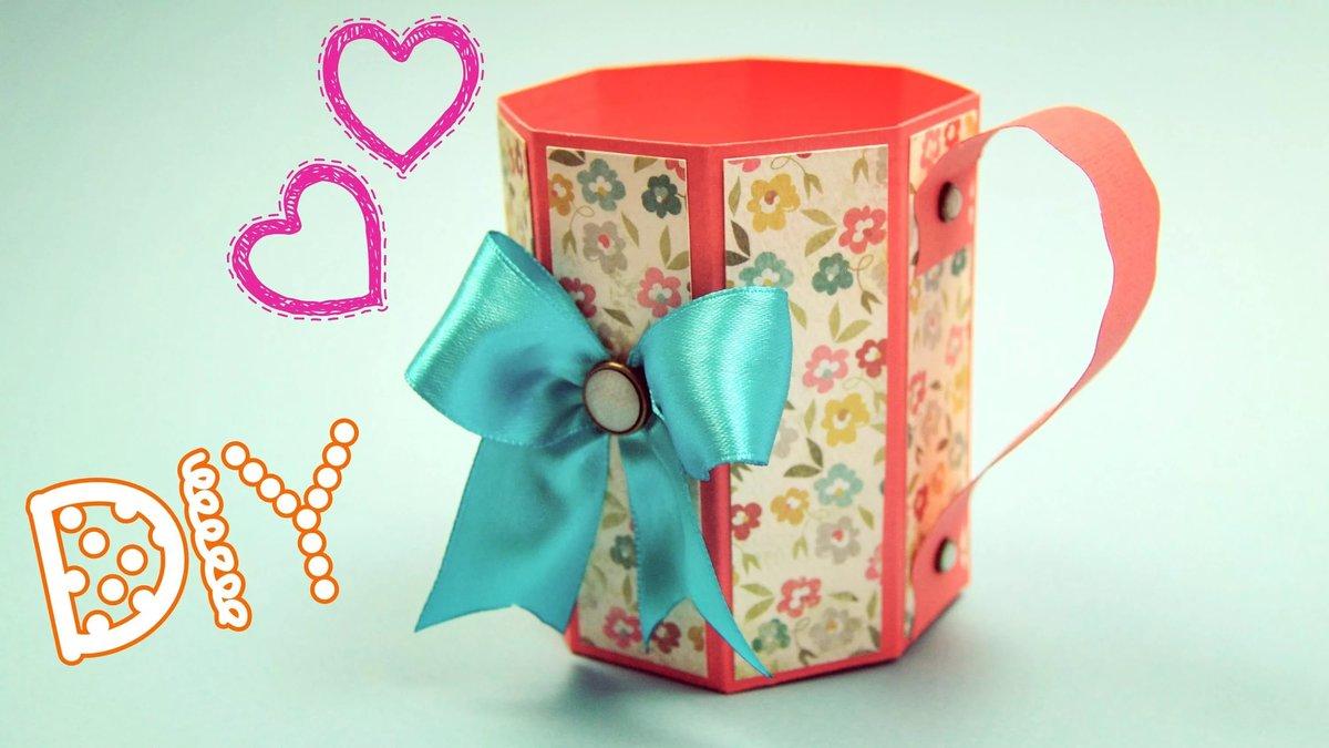 Как сделать подарок для девочки из бумаги
