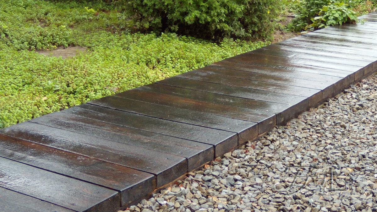 Дорожки для сада своими руками из бетона 359