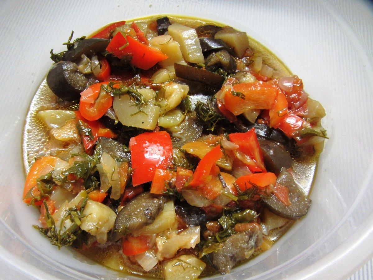 Тушеные баклажаны в мультиварке рецепт пошагово