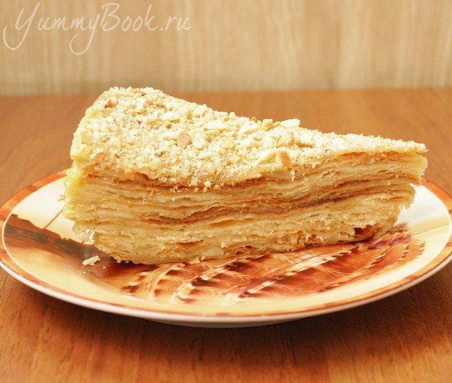 Рецепт теста торта наполеона