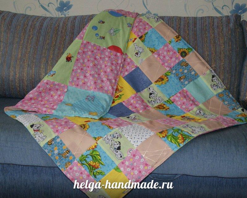 Стеганое одеяло своими руками мастер класс для начинающих