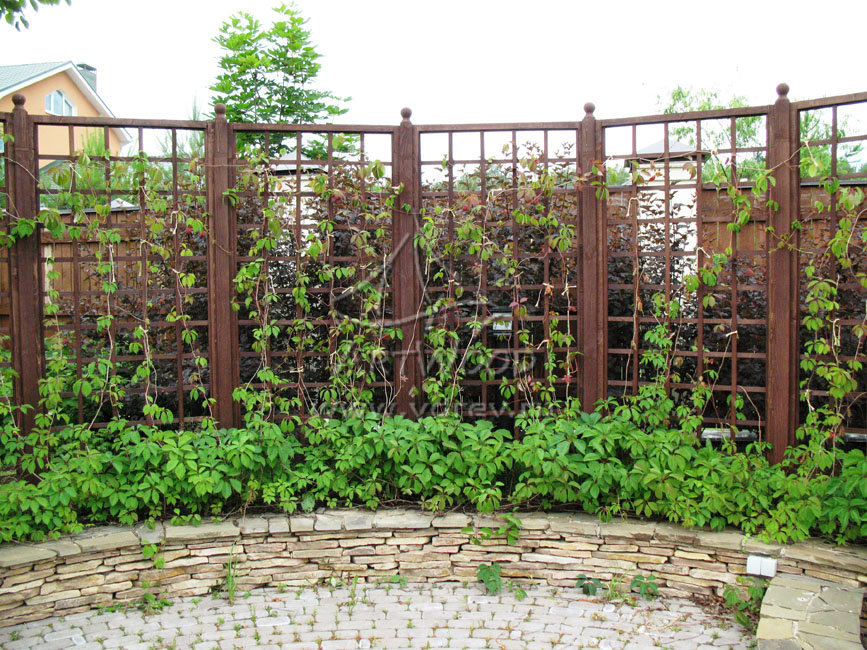 Изгородь для винограда своими руками 8